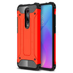 Red Military Defender Shockproof Case - Xiaomi Mi 9T / Redmi K20 Pro